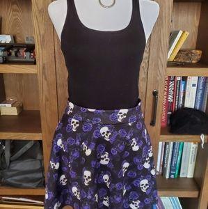 💀Skater skirt